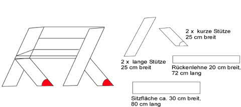 Rustikale gartenmöbel selber bauen  Ideen: Gartenmöbel selber bauen