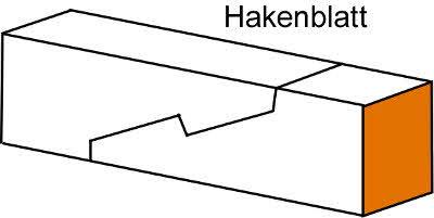 Holzverbindungen Hakenblatt