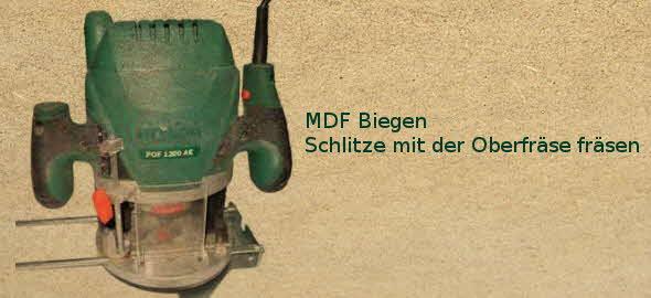 Tipps: MDF biegen