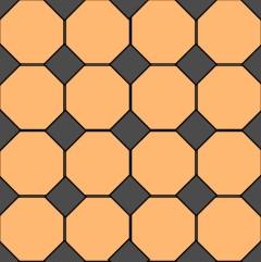 Fliesen verlegen Muster: Fiesen mit Einlegern verlegen