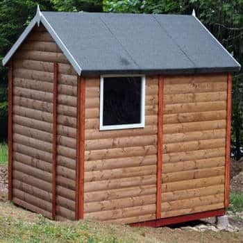 Eine Holzhütte selber bauen: Anleitung