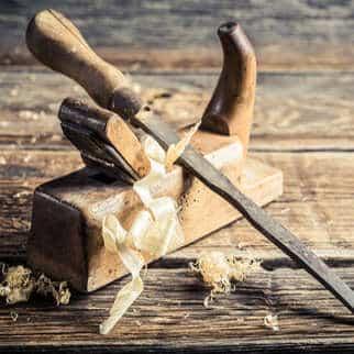 Selber bauen mit Holz: Holzarbeiten