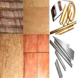 Heimwerker Baumaterial aus Holz, Stein und Metall