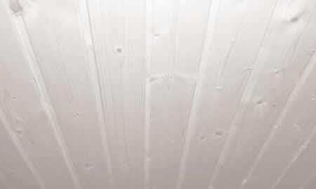 Berühmt Holzdecke streichen in Weiß: Schritt für Schritt Anleitung RZ32
