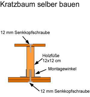 Kratzbaum selber bauen