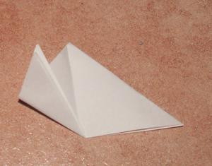 schneegloeckchen basteln anleitung falten papier