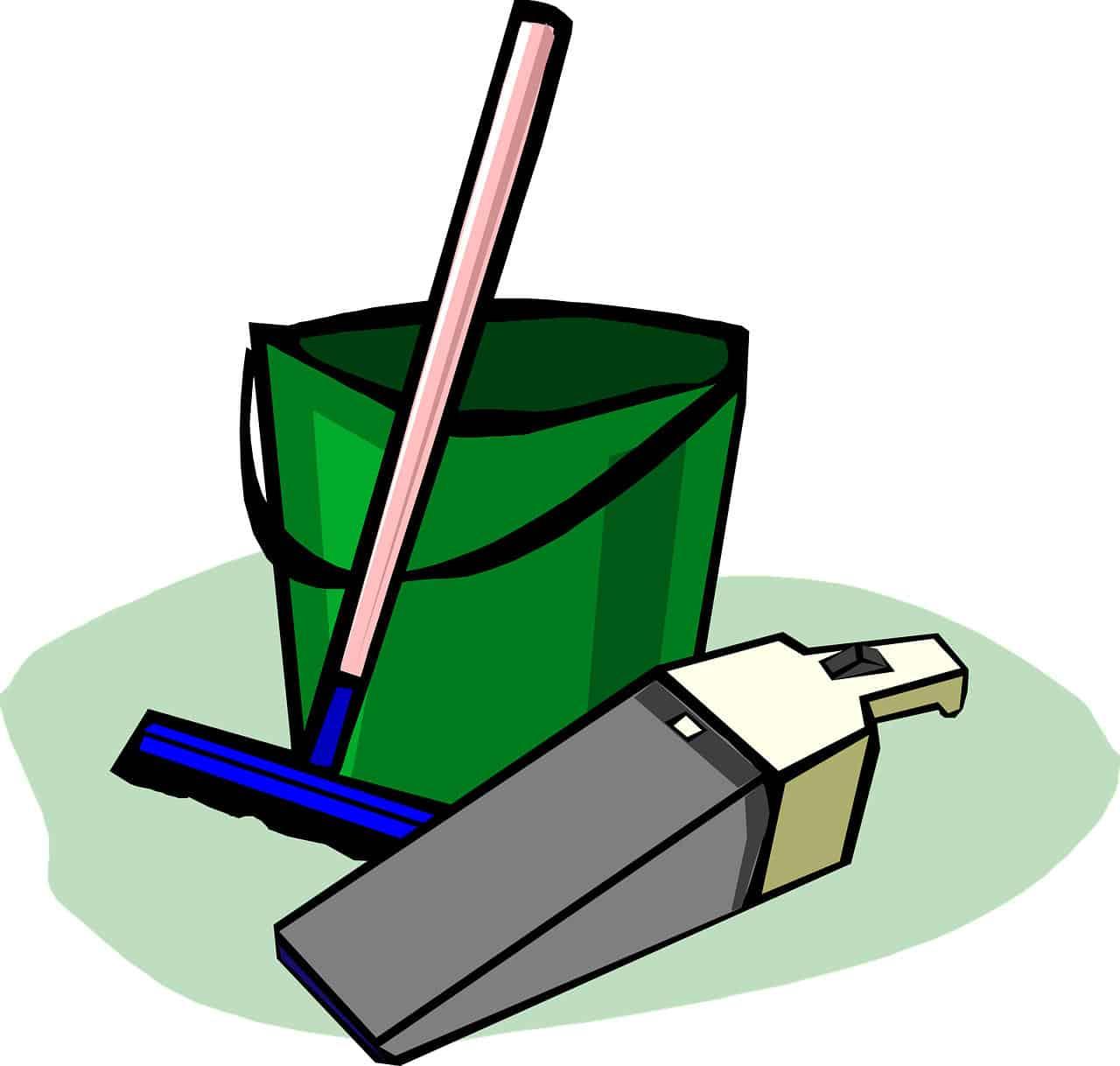 Holzdecke reinigen: Schleifstaub entfernen