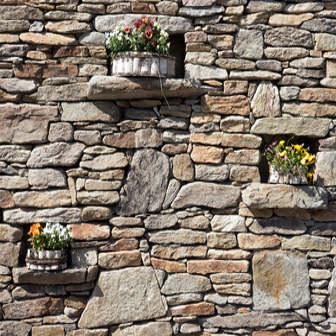 Natursteinmauer Kosten und Preise pro m²