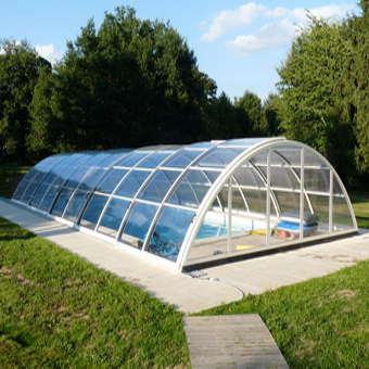 Eine Poolüberdachung selber bauen: Anleitung