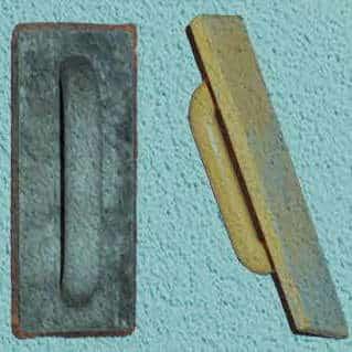 Hervorragend Scheibenputz auftragen: Reibeputz richtig strukturieren TX13