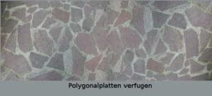 Polygonalplatten verfugen Anleitung