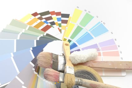 Bodenfliesen streichen: Farbauswahl