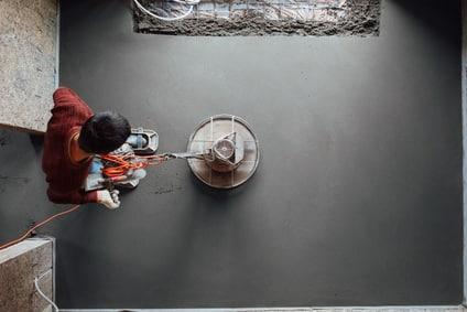 Anleitung: Beton abschleifen