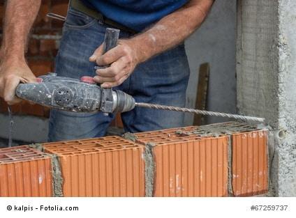 Tipps zu Bohrarbeiten an Betonwänden