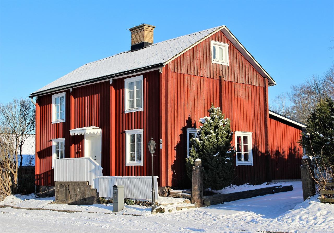 Schwedenrot Haus