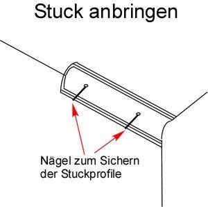 Stuck anbringen Anleitung