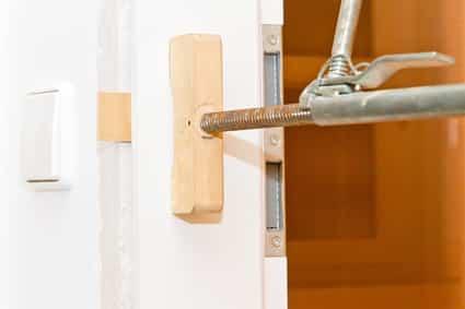 Berühmt Türzarge einbauen: Anleitung Innentüren montieren BK48