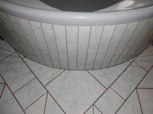 Badezimmer Fugen
