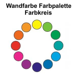 Wandfarben Farbpalette
