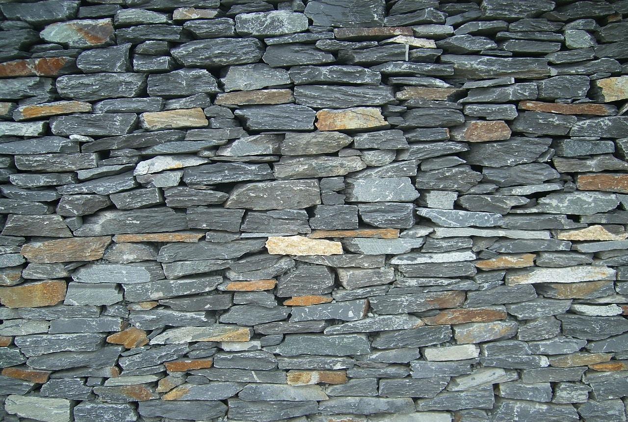 Bruchstein Trockenmauersteine