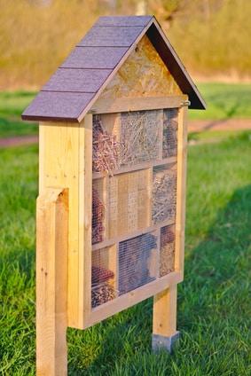 Insektenhotel Insektenhaus bauen