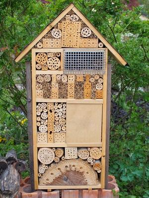 Insektenhaus selber bauen