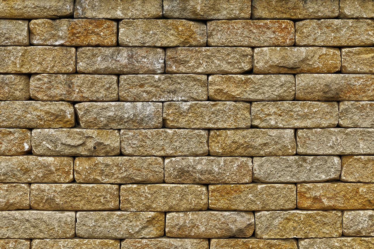 Sandstein Trockenmauersteine