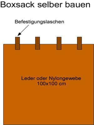 Anleitung: Boxsack selber bauen