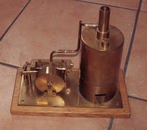 Dampfmaschine Bauplan