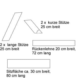 Holzbank Bauanleitung