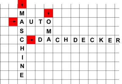 Anleitung: Ein Kreuzworträtsel selber machen