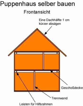 Anleitung: Ein Puppenhaus selber bauen