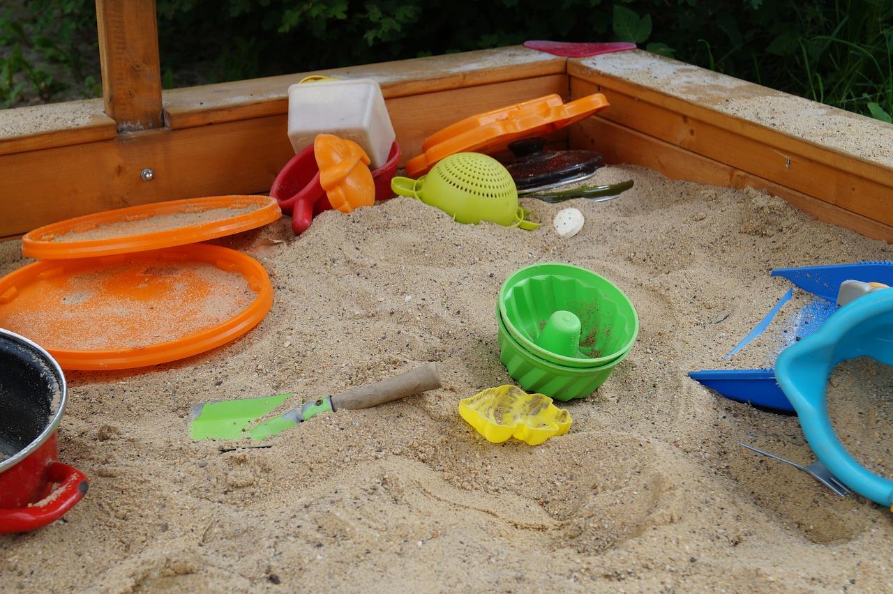 Anleitung: Sandkasten selber bauen