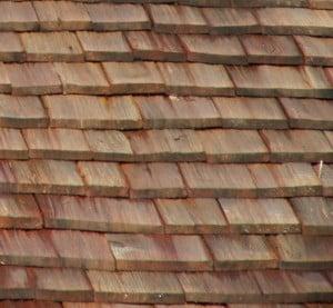 Holzschindeln verlegen Schindeln Schindeldach