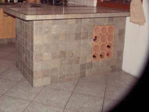 Küchentheke selber bauen Bauanleitung Anleitung