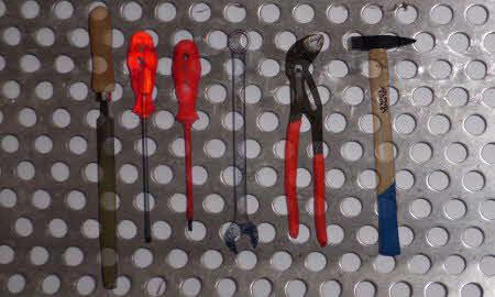 Anleitung: Eine Werkzeugwand selber bauen