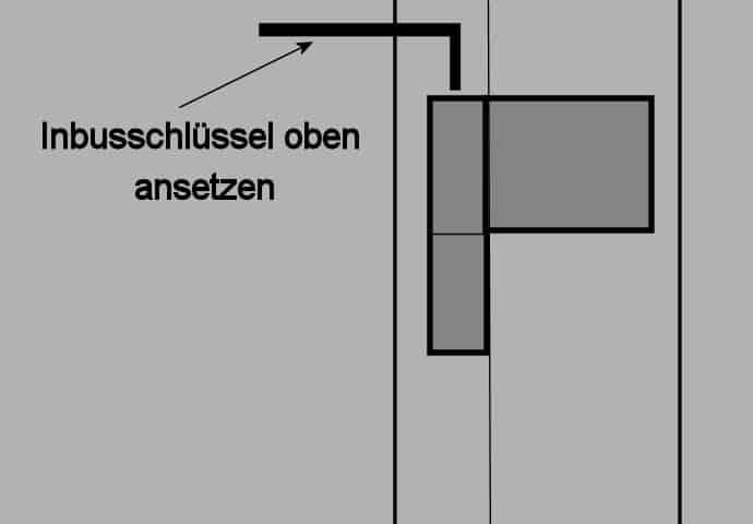 Eingangstür Anpressdruck einstellen