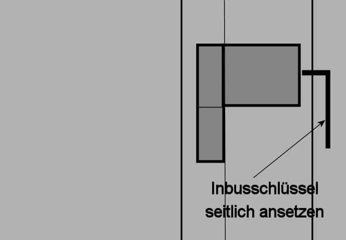 Haustür Seiteneinstellung