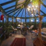 So gestaltet man den Wintergarten fantasievoll und schön