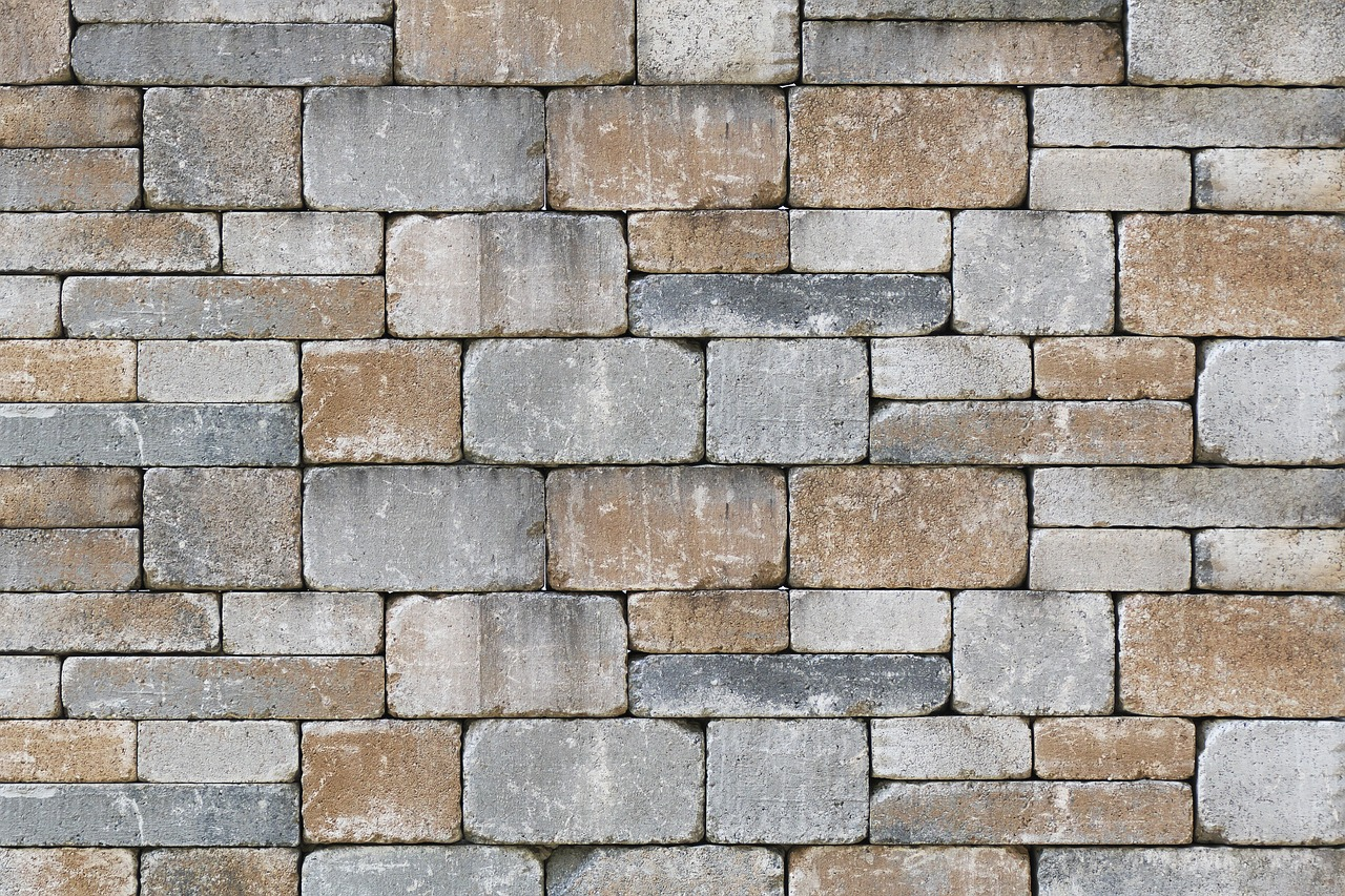 Kalkstein gesägt und getrommelt
